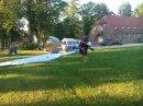 Демонстрационные полеты в детском лагере.